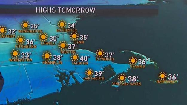 Forecast: Chilly Monday Ahead of Potential Fourth Nor'easter