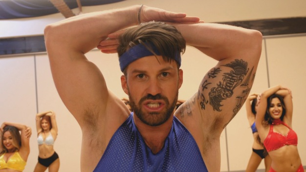 Johnny Bananas Tries Out For Newest Position on LA Ram Cheerleading Squad