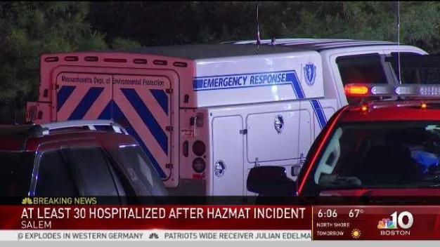 Hazmat Responds to Salem Business