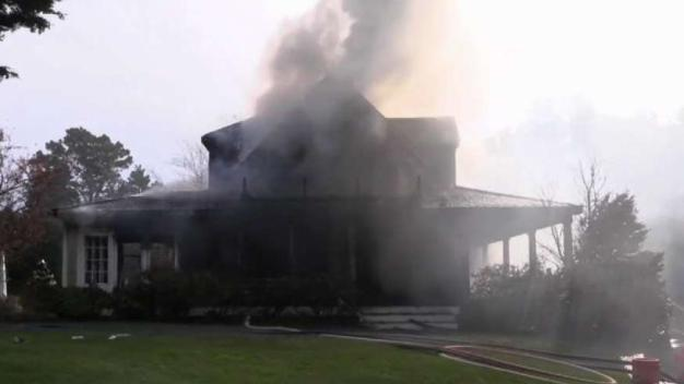 3-Alarm Fire Destroys Cape Cod Vacation Home