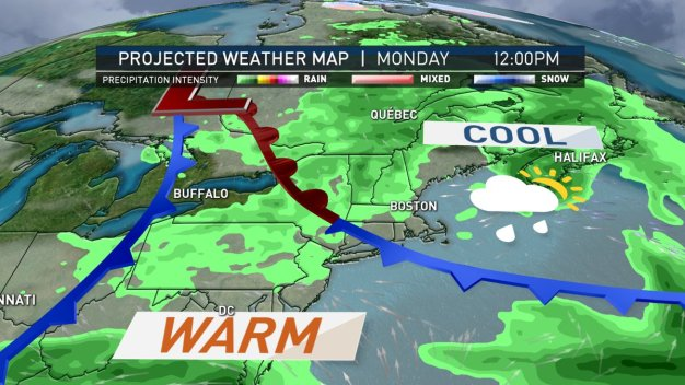 Cool Front Persists Into Memorial Day