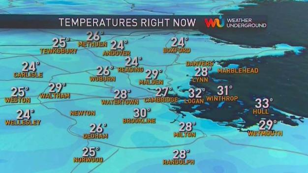 Chilly Start to Black Friday, Temperatures Climb During Mostly Dry Day