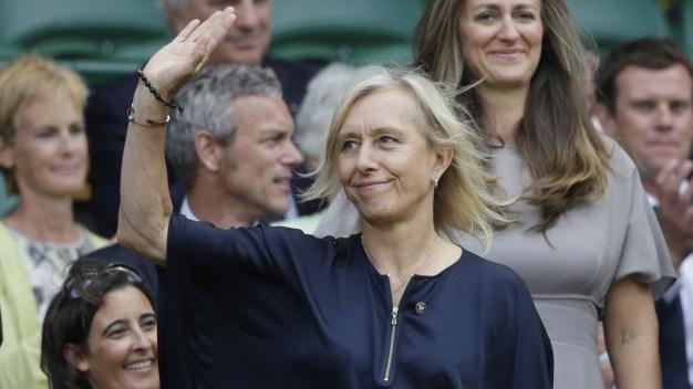Martina Navratilova Says BBC Paid John McEnroe 10 Times More