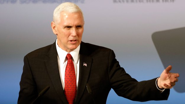 In Europe, Pence Says US Will Hold Russia Accountable