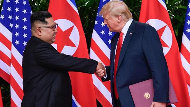 Trump's N. Korea Effort Gets Highest Marks of His Term: Poll