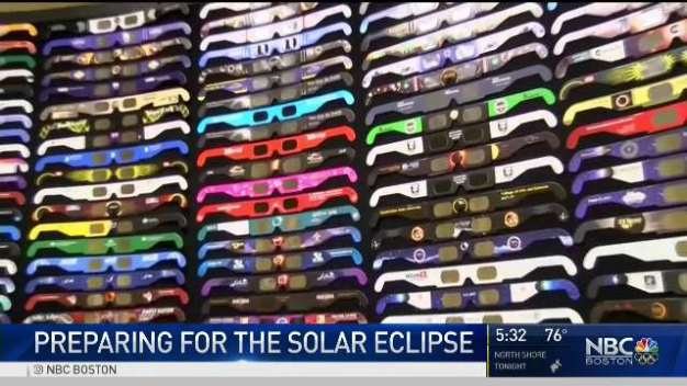 New England Prepares for the Solar Eclipse