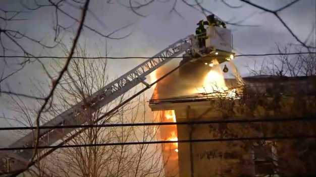 At Least 8 Buildings Involved in Massive Cambridge Fire