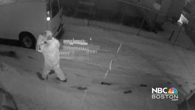 Surveillance Video Shows Before and After of Shooting