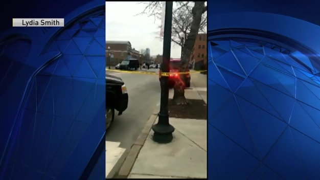 Viewer Video: Police Cruiser Set on Fire