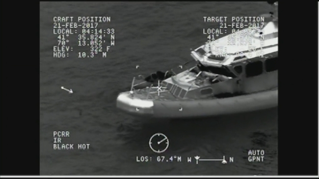 Coast Guard Rescues Missing Boater in Yarmouth