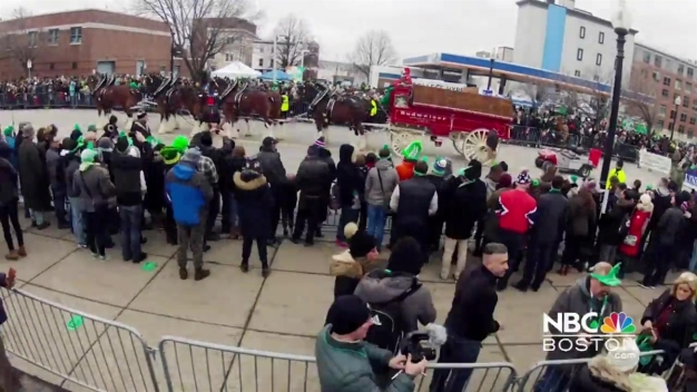 St. Patrick's Day Parade Timelapse