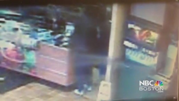 Armed Robbery Caught on Camera at Subway Restaurant