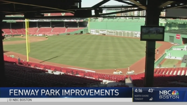 Fenway Park Displays 2017 Improvements