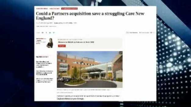 BBJ: Could a partners Acquisition Save Care New England?