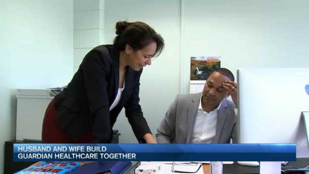 Husband, Wife Build Guardian Healthcare Together