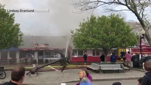Major Fire in Provincetown