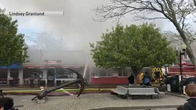 Major Fire at Provincetown Restaurants