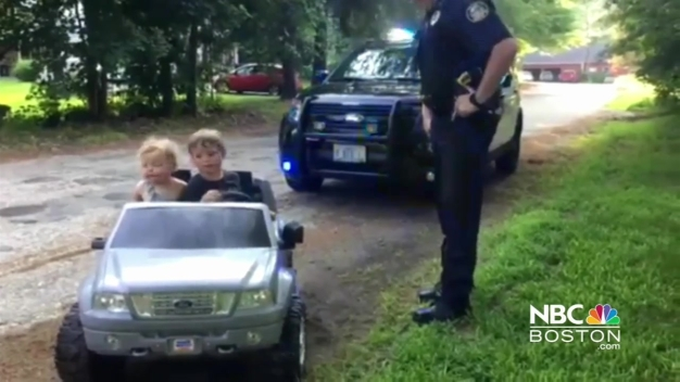 Tiny Drivers 'Pulled Over' By Local Police