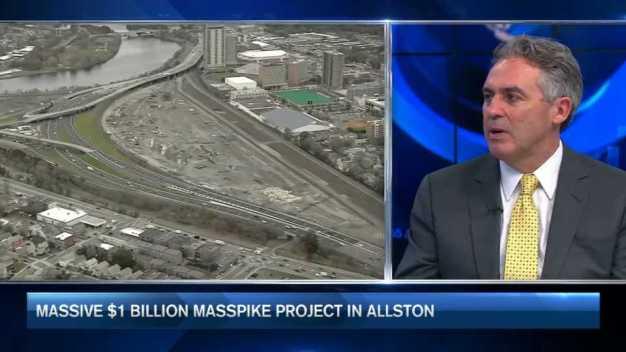 Massive $1B Mass. Pike Project in Allston
