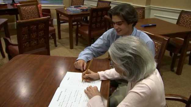Teen Creates Puzzle Book to Help Elderly With Brain Exercise