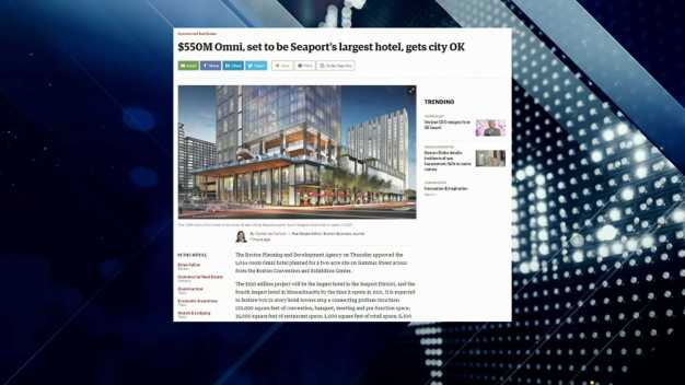 BBJ Report: Moving Forward With Omni Hotel