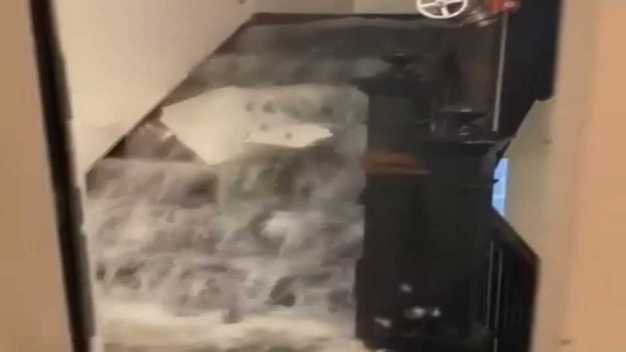 Lawrence, Mass. Residents Encounter Flooding in Their Building
