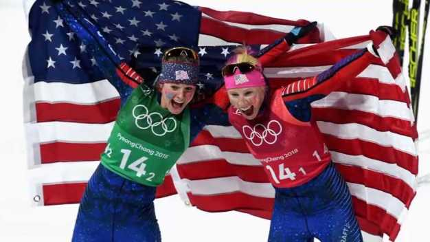 Olympic Gold Medalists Compete in Vt. Cross-Country Ski Race