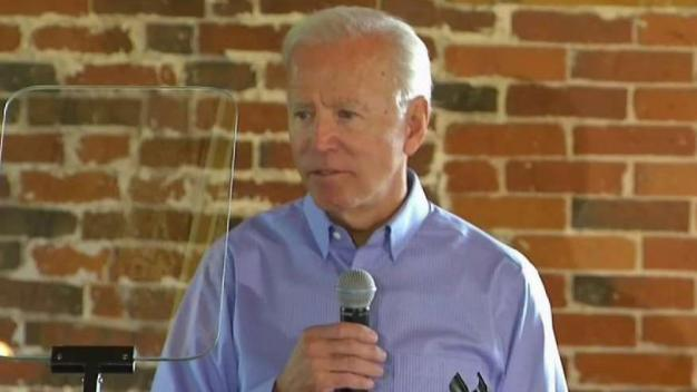 Biden Answers Questions at NH Town Hall