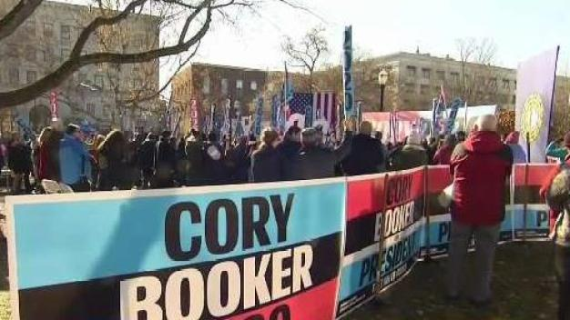 Booker's Support in NH