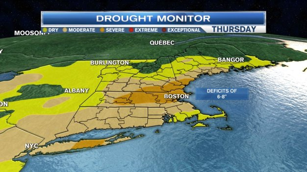 Drought Considered 'Severe' in 40 Percent of Mass.