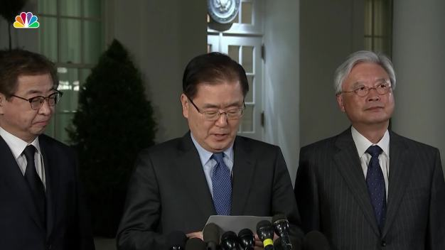 South Korean Leader Says Trump Will Meet With North Korean Dictator