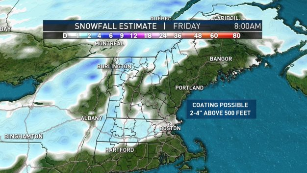 more snow rain moving in later this week