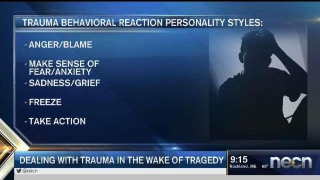 Dealing With Trauma in Wake of Tragedy