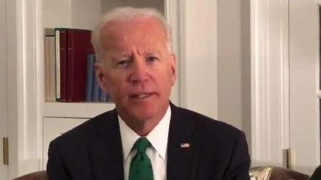 Former Vice President Joe Biden Delivers Video Message