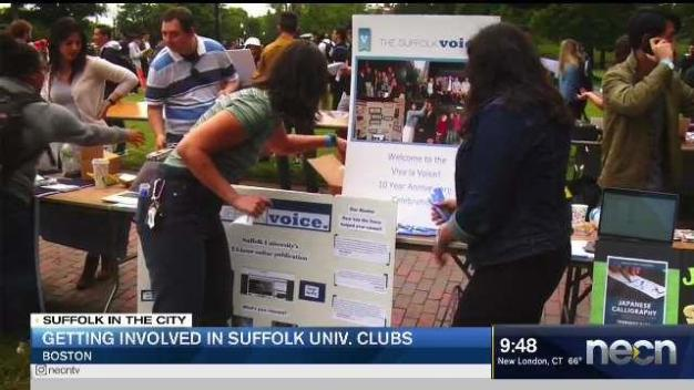 Getting Involved in Suffolk University Clubs