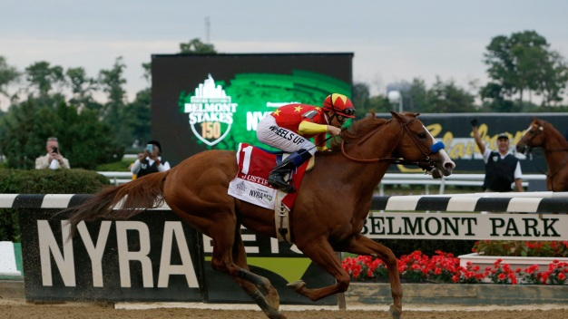 Justify Wins Belmont for Rare Triple Crown Sweep