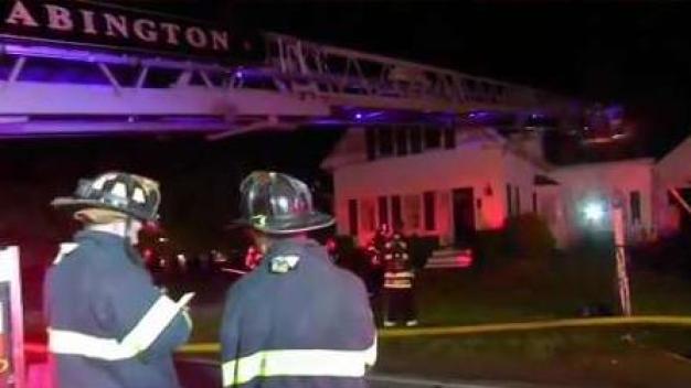 Heroic Neighbor Helps Save Man From Burning Abington Home