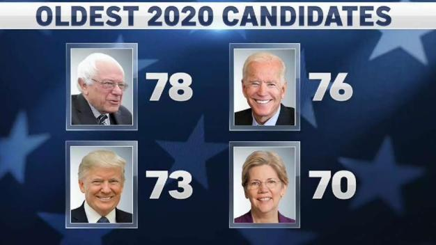How Age Is Playing Into the 2020 Presidential Race