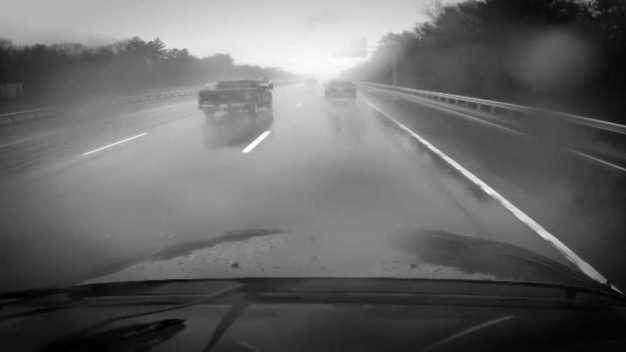 Recurring Pooling on Mass. Highway Risks Hydroplaning