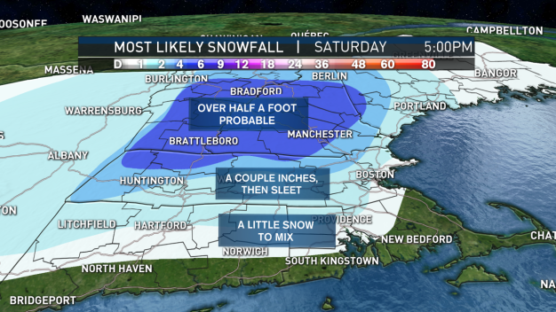 "Weekend Storm Could Bring 6-12"" of Snow for Some"