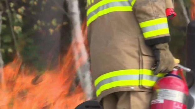 Fire Department 'Standing Down' Until Crews Get Updated Gear