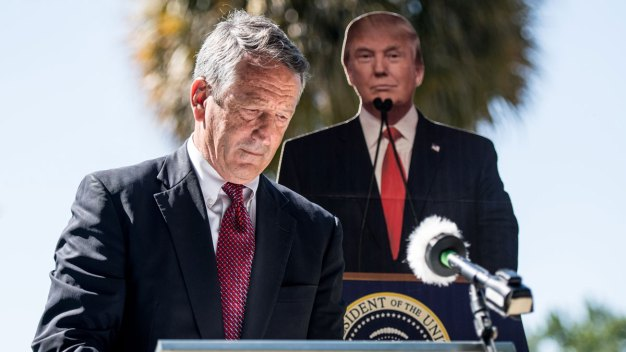Mark Sanford Suspends GOP Primary Challenge to Trump