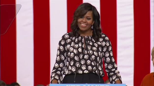 Michelle Obama: When They Go Low We Go High By Voting