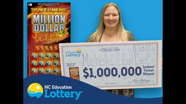 2nd N. Carolina Woman Claims 2 Lottery Prizes on Same Day