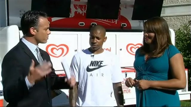 Isaiah Thomas Joins Brian and Latoyia on the Morning Show