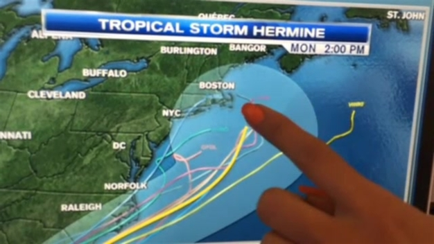 Chris and Nelly Talk Tropical Storm Hermine