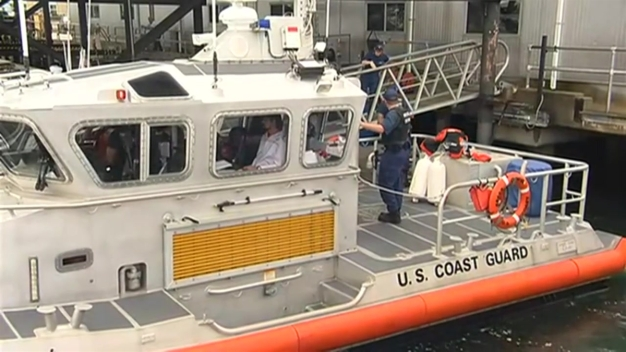 Man Reunited With Family After Being Lost at Sea