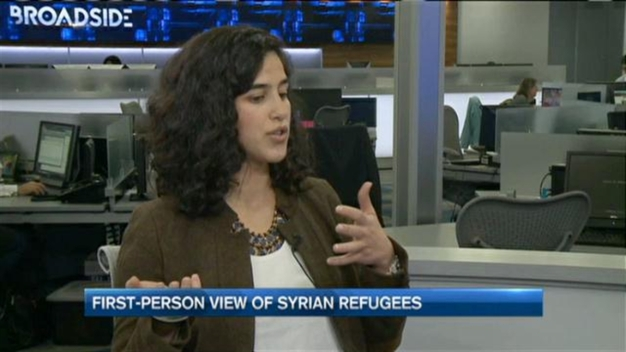 First Person View of Syrian Refugees