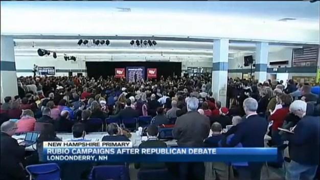 Rubio Speaks to Voters in N.H.