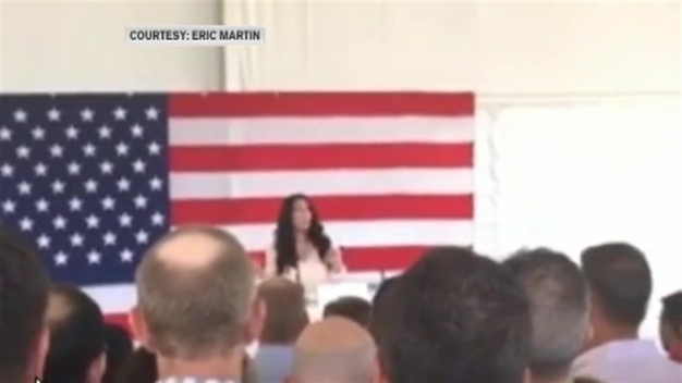 Cher Attends Rally for Clinton and Slams Trump